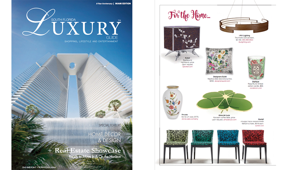 Luxury Guide  March 2017 cover by Koket