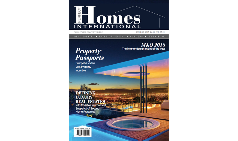 Perfect Homes December 2017 cover by Koket