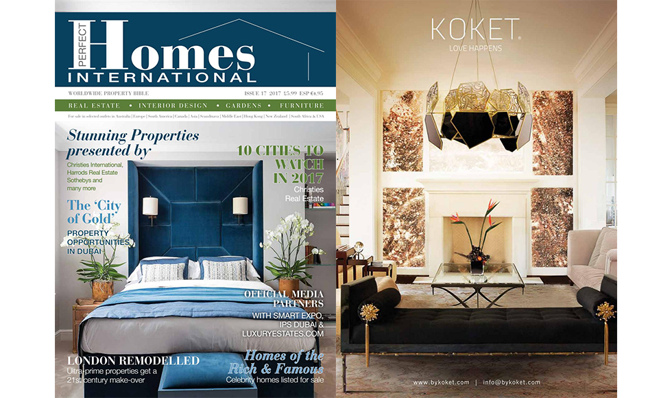 The Perfect Homes March 2017 cover by Koket
