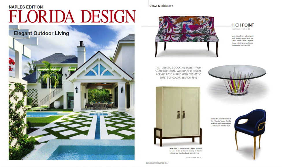 Florida Design January 2018 cover by Koket