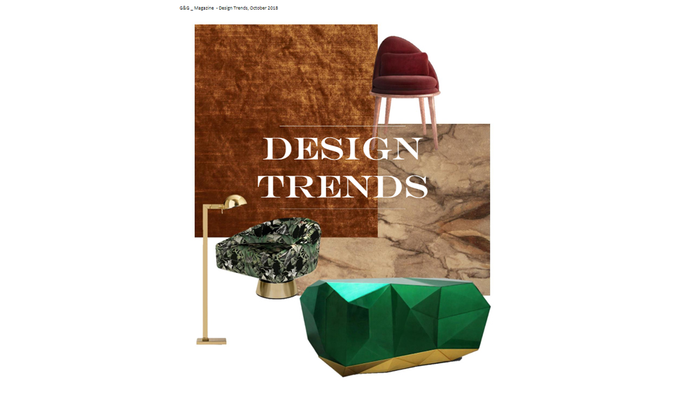 G&G Design Trends October 2018 cover by Koket