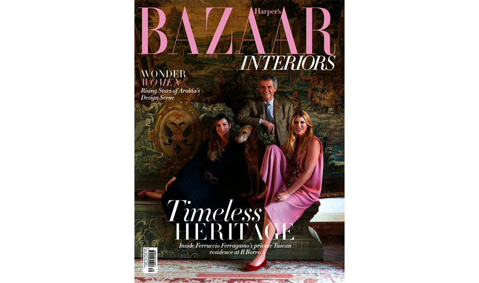 Harper's Bazaar Interiors Autumn 2018 cover by Koket