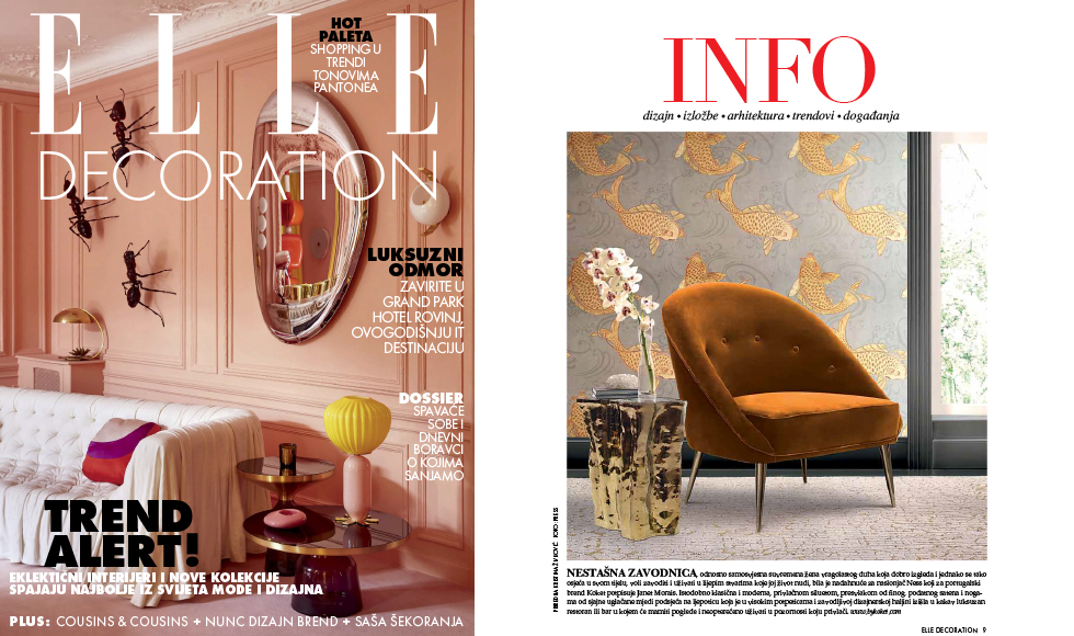 Elle Decoration March 2019 by Koket