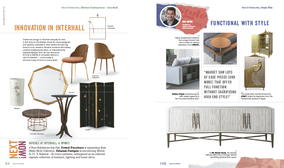 Furniture Preview October 2019 by Koket