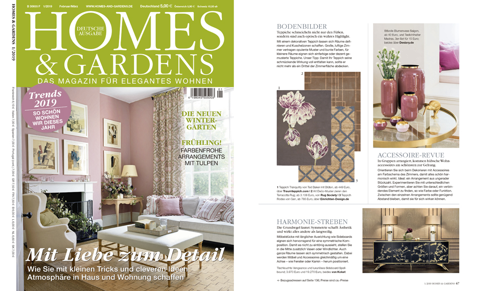 Homes & Gardens April 2019 by Koket