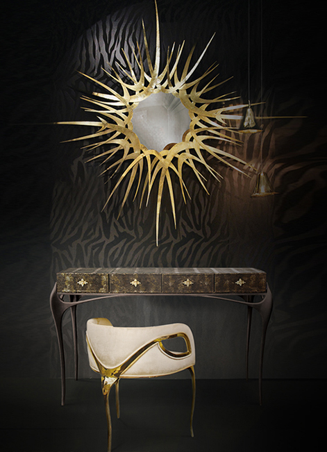 @koket Projects with Gia pendant, Guilt Mirror and Temptation console http://www.bykoket.com/projects.php