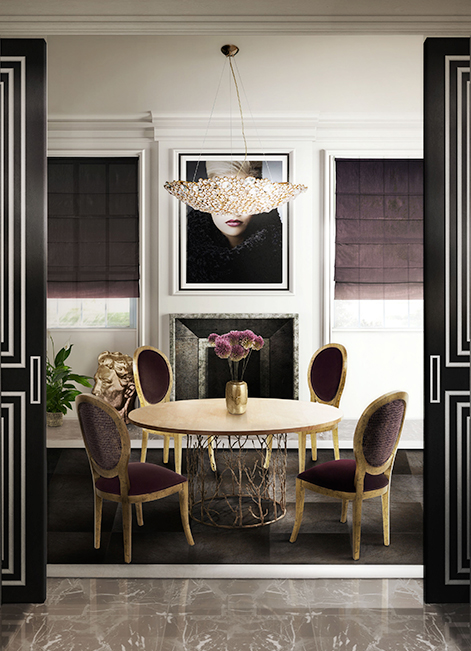 @koket Projects with Eternity chandelier, Enchanted dining table http://www.bykoket.com/projects.php