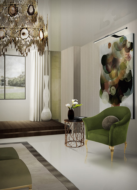 @koket Projects with Vivre chandelier, Mimi chair and Kiki Side table http://www.bykoket.com/projects/