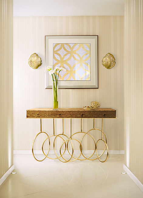 @koket Projects with Passion Sconce, Burlesque console  http://www.bykoket.com/projects.php