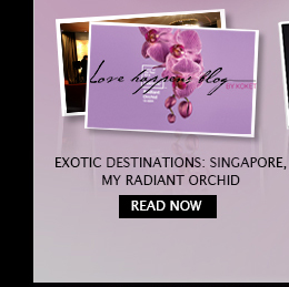 Exotic destinations: Singapore, my radiant orchid