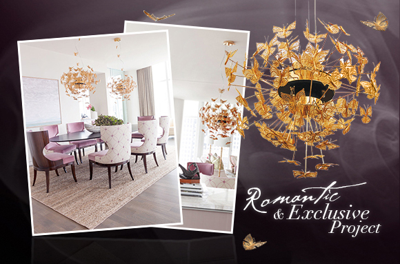 Romantic Exclusive Project With Nymph Chandelier
