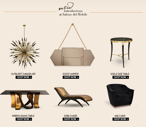 Discover the new introductions at Salone del Mobile
