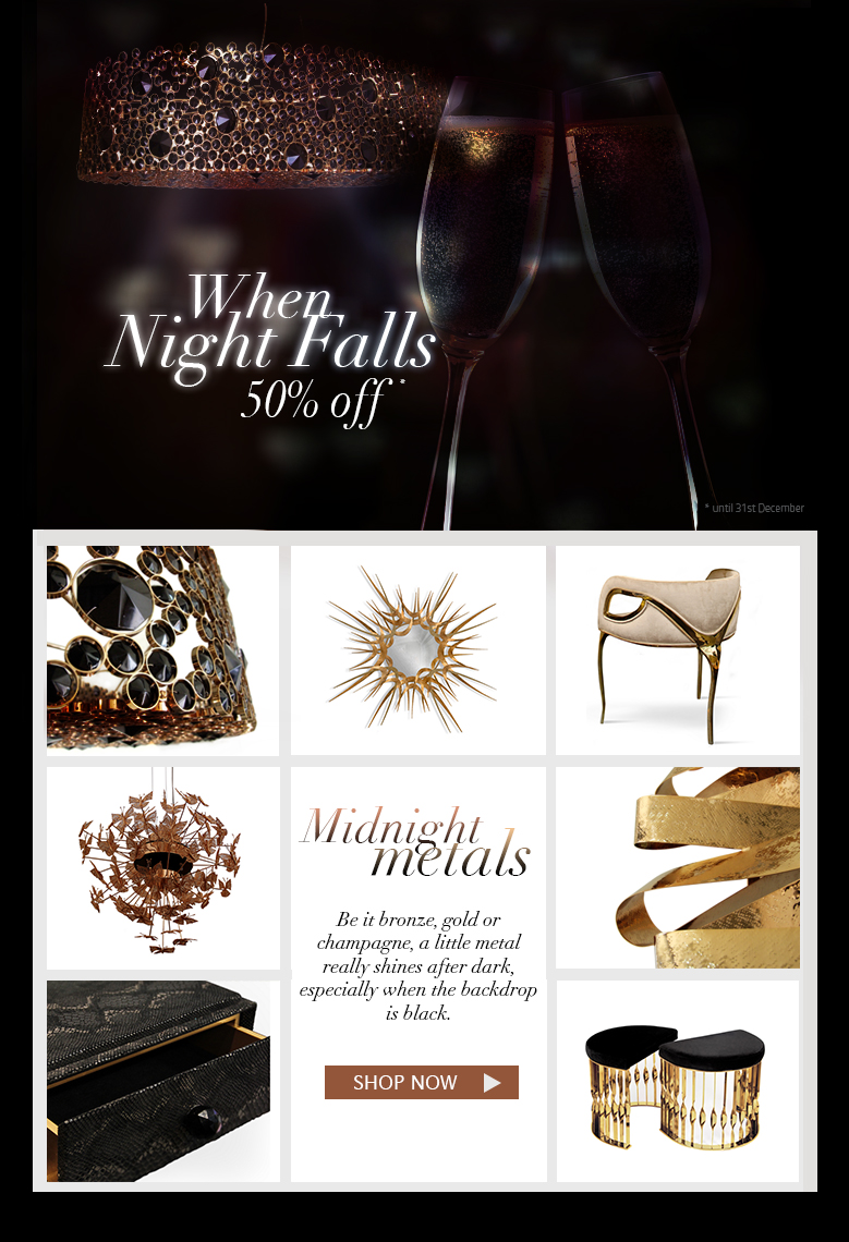 When Night Falls - Midnight metals up to 50% off