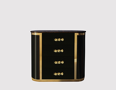 Orchidea Bedside Table by KOKET