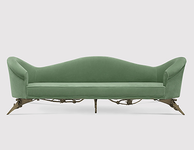 Colette Sofa by KOKET