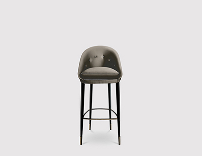 Nessa Bar Stool by KOKET